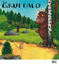 The Gruffalo is becoming a BBC star this Christmas.