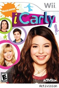 iCarly's game from Activision is an effort to get girls into gaming.