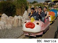 The award-winning Inbetweeners is coming to BBC America in 2010.