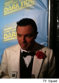 Seth MacFarlane hosted the premiere event for Family Guy: Something, Something, Something Dark Side.