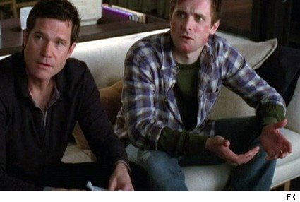 Dylan Walsh and Neil Hopkins
