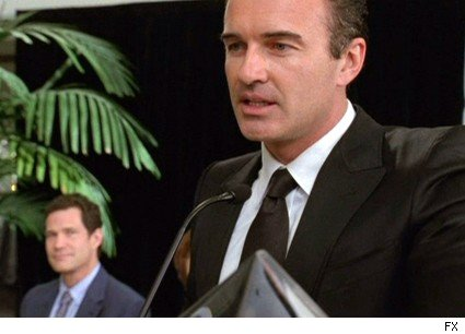 Dylan Walsh and Julian McMahon