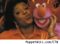 Alaina Reed, Sesame Street