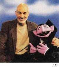 Patrick Stewart can now count his knightship.
