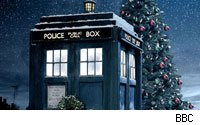 It's the 25 Days of Christmas in the Tardis.