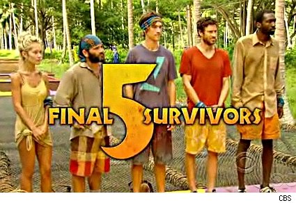 The final five go for the million on Survivor