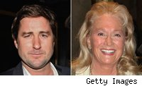 Luke Wilson and Diane Ladd