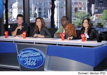 american idol shania twain