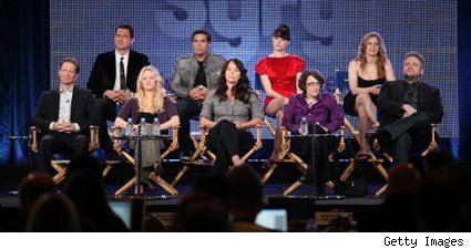 The Caprica cast and producers at the Winter 2010 TCAs