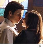 Clark and Lois on Smallville