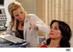 Lisa Kudrow and Courteney Cox in Cougar Town : Rhino Skin