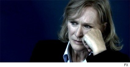 Glenn Close as Patty Hewes on Damages
