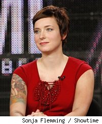 Diablo Cody at the 2010 Winter TCAs