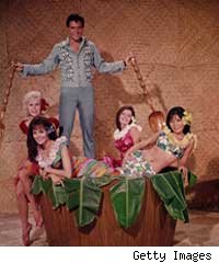 Elvis in 'Blue Hawaii.'