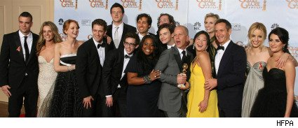 Golden Globes 2010: Cast of Glee