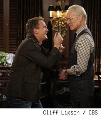 Neil Patrick Harris and Tim Gunn in How I Met Your Mother: Girls vs. Suits