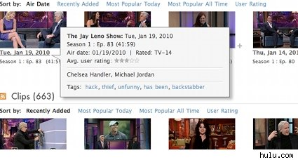 jay leno hulu tags