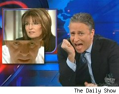 Jon Stewart compares Glenn Beck and Sarah Palin to Hannibal Lecter and Clarice Starling
