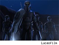 The Jedi must once again face the Mandalorians in this Friday's Clone Wars episodes.