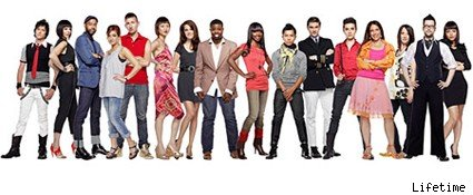 The contestants of season seven of Project Runway