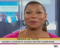 Queen Latifah, Haitian Babies, The Today Show