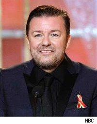 Golden Globes 2010, Ricky Gervais