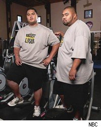 Sam Poueu and Koli Palu, The Biggest Loser 9