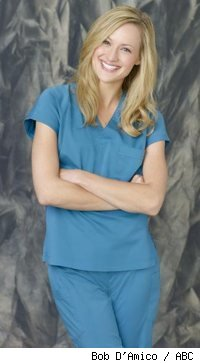Kerry Bishe as Lucy in Scrubs