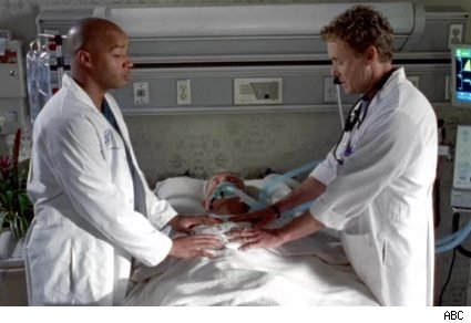Donald Faison and John C. McGinley in Scrubs: Our Couples