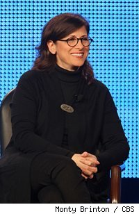 Nina Tassler at the Winter 2010 TCA CBS exec session