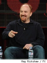 Louis C.K. at the 2010 Winter TCAs