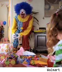 Walmart Clown Commercial