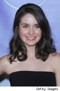 Alison Brie at the NBC all-star Party at the Winter 2010 TCAs