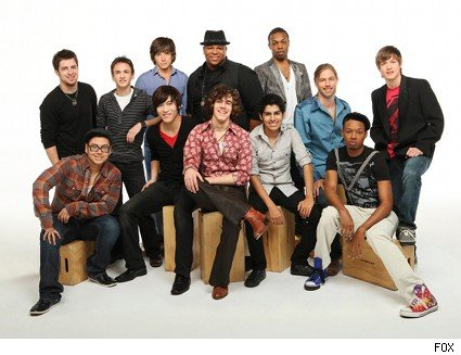 american idol top 12 guys