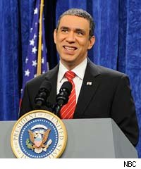 Fred Armisen as Barack Obama on Saturday Night Live