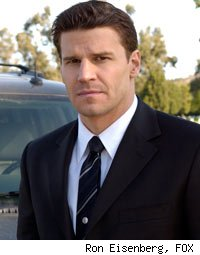 David Boreanaz as Seeley Booth on Bones