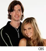 Caite Upton and Brent Horne Amazing Race