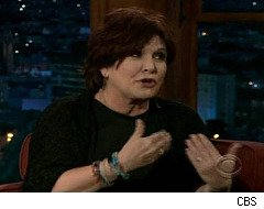 Carrie Fisher talks sperm, breast reductions, ball sacks on 'Craig Ferguson'