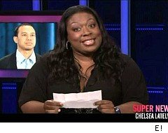 Chelsea Lately, Loni Love, Tiger Woods