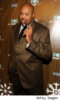 Chi McBride at the FOX all-star party January 2010