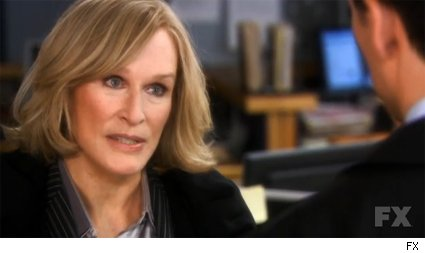 Glenn Close as Patty Hewes on FX's 'Damages.'