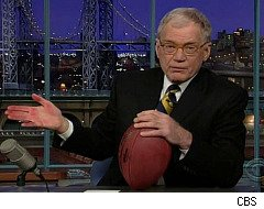 David Letterman, Super Bowl Commercial