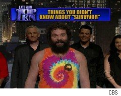 David Letterman, Top Ten List, Survivor