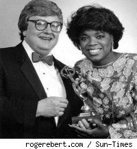 Roger Ebert and Oprah Winfrey in the 1980s