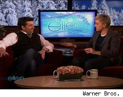 Patrick Dempsey wears a thong on 'Ellen'