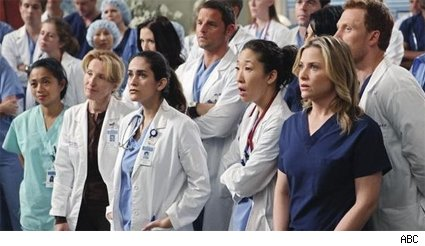 The whole Seattle Grace hospital braces for big news.