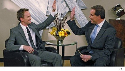 Neil Patrick Harris and Jim Nantz, 'How I Met Your Mother'