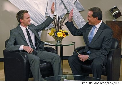 Neil Patrick Harris and Jim Nantz in 'How I Met Your Mother' - 'The Perfect Week'