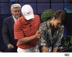 The Jay Leno Show, Jessica Alba, Sexy Golf