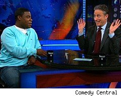 Jon Stewart, The Daily Show, Tracy Morgan